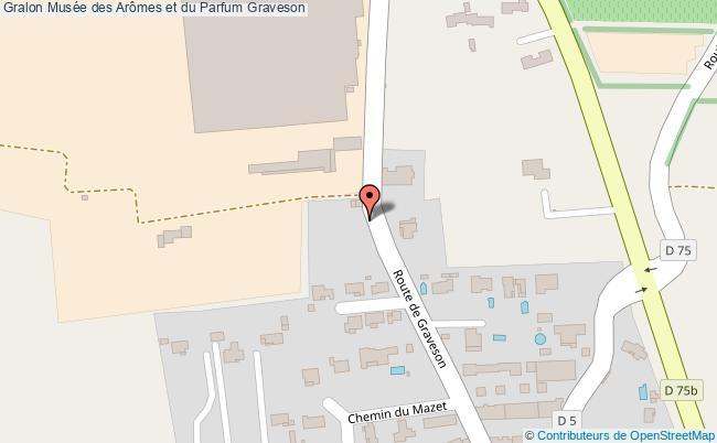 plan Musée Des Arômes Et Du Parfum Graveson