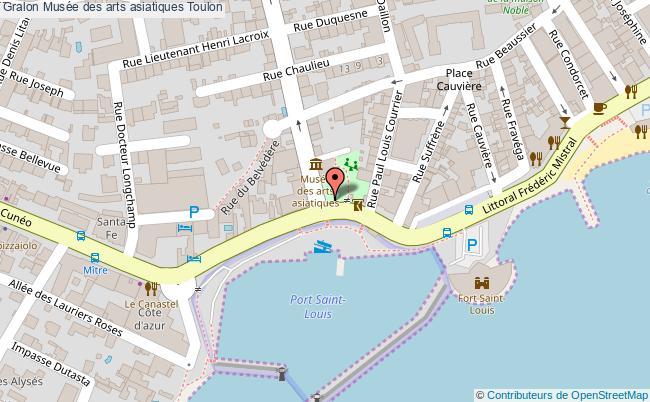 plan Musée Des Arts Asiatiques Toulon