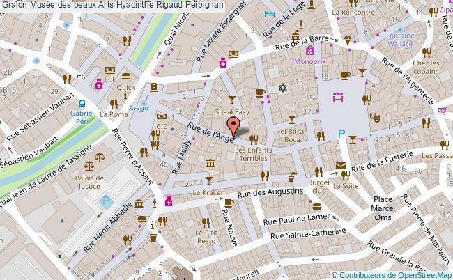 plan Musée Des Beaux Arts Hyacinthe Rigaud Perpignan