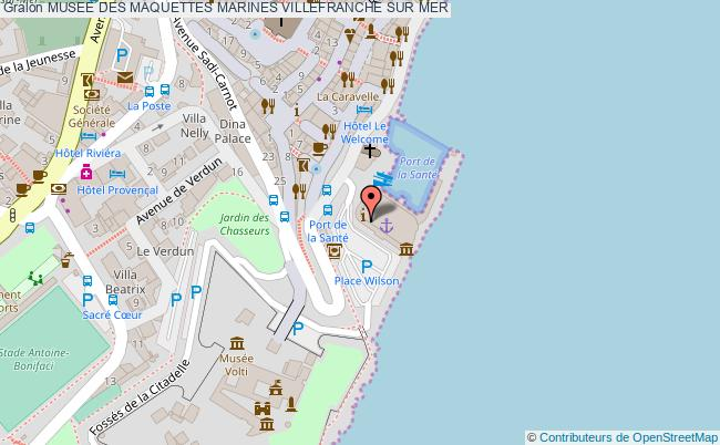 plan Musee Des Maquettes Marines Villefranche Sur Mer