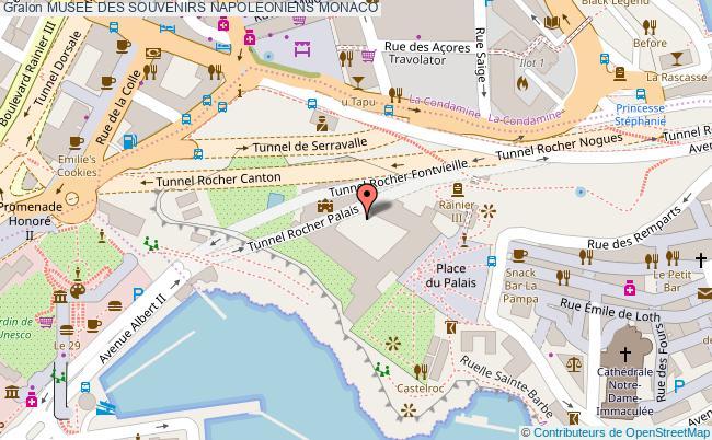 plan Musee Des Souvenirs Napoleoniens Monaco