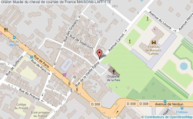 plan association Musée Du Cheval De Courses De France Maisons-laffitte MAISONS-LAFFITTE