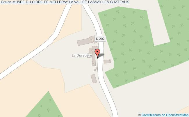 plan association Musee Du Cidre De Melleray La Vallee Lassay-les-chateaux LASSAY-LES-CHATEAUX
