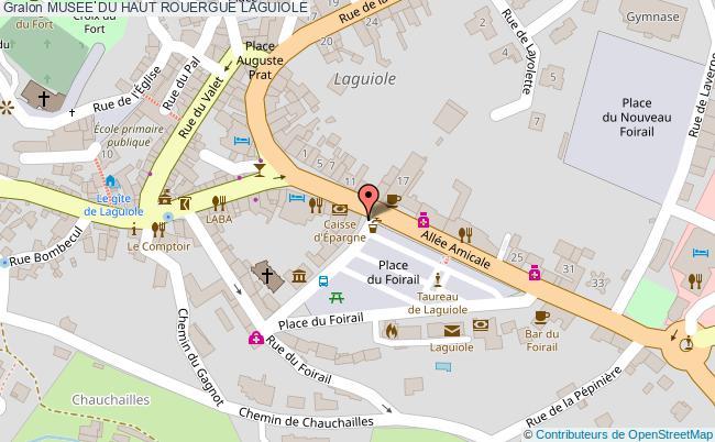 plan Musee Du Haut Rouergue Laguiole