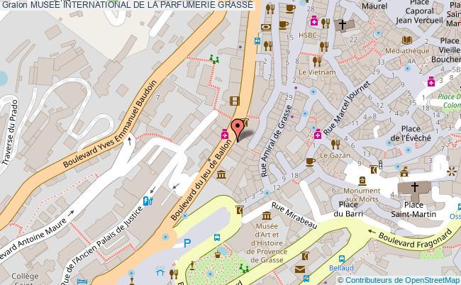 plan Musee International De La Parfumerie Grasse