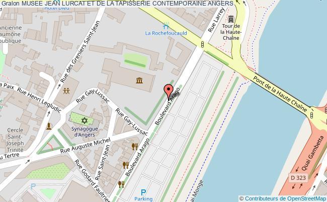 plan Musee Jean Lurcat Et De La Tapisserie Contemporaine Angers