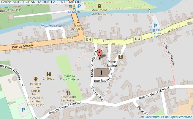 plan Musee Jean Racine La Ferte-milon