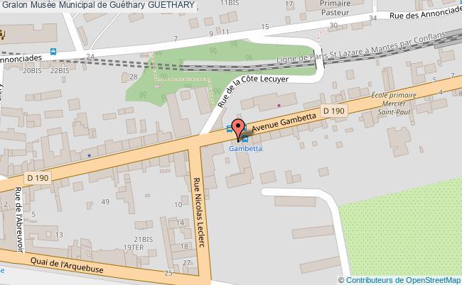plan Musée Municipal De Guéthary Guethary