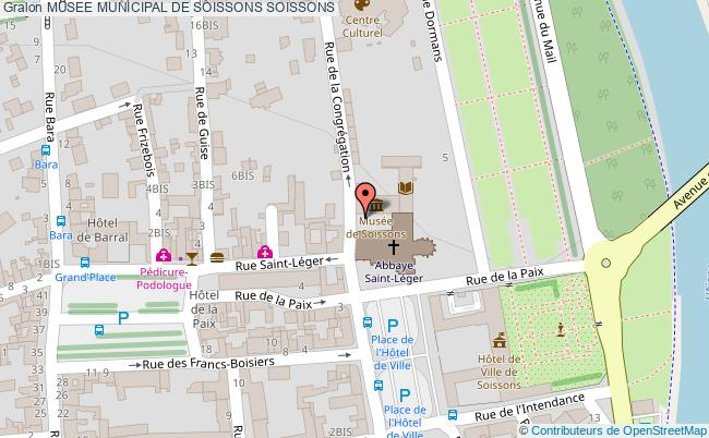 plan Musee Municipal De Soissons Soissons
