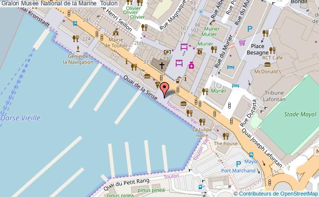 plan Musée National De La Marine  Toulon