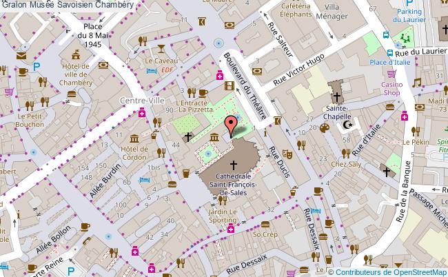 plan association Musée Savoisien Chambéry Chambéry