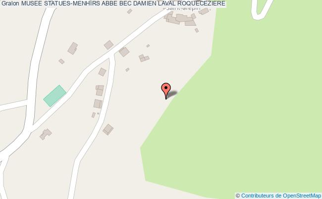 plan Musee Statues-menhirs Abbe Bec Damien Laval Roqueceziere
