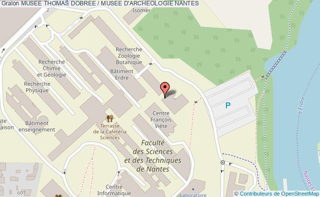 plan Musee Thomas Dobree / Musee D'archeologie Nantes