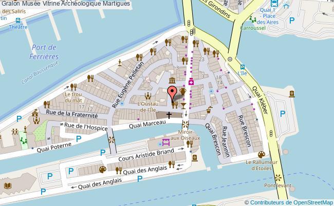 plan Musée Vitrine Archéologique Martigues