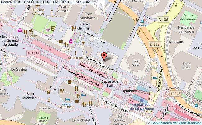 plan association Museum D'histoire Naturelle Marciac MARCIAC