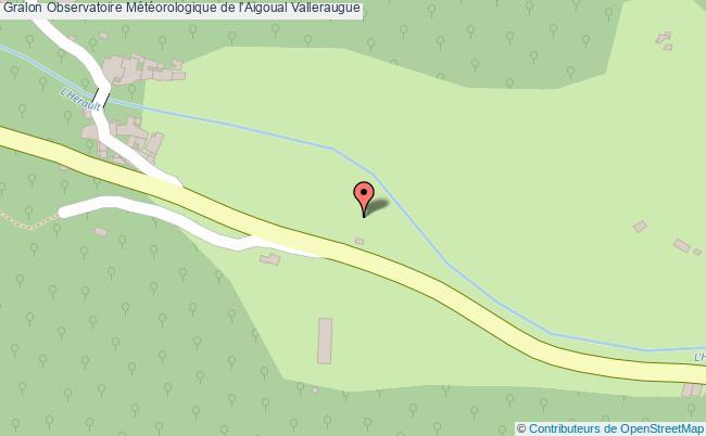 plan Observatoire Météorologique De L'aigoual Valleraugue
