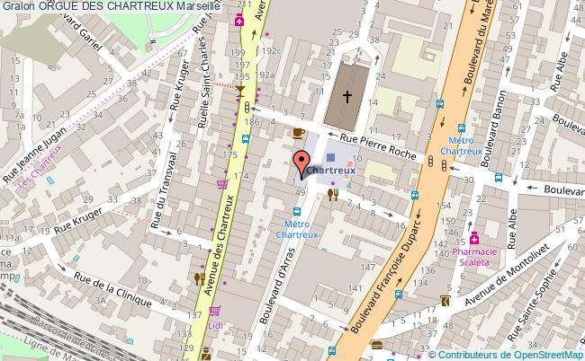 plan Orgue Des Chartreux Marseille