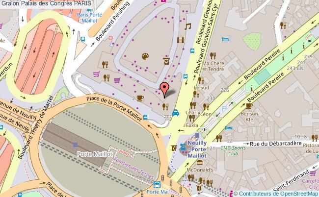 Palais des congr s paris tourisme equipements de loisirs - Plan de salle palais des congres porte maillot ...