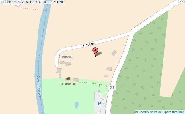 plan Parc Aux Bambous Lapenne