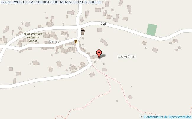 plan Parc De La Prehistoire Tarascon Sur Ariege