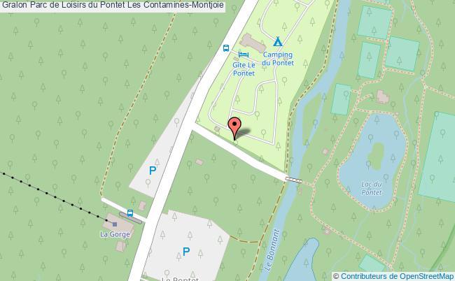 plan Parc De Loisirs Du Pontet Les Contamines-montjoie