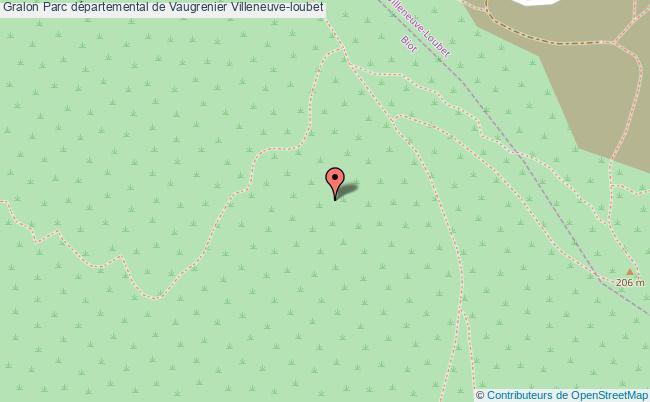 plan Parc Départemental De Vaugrenier Villeneuve-loubet