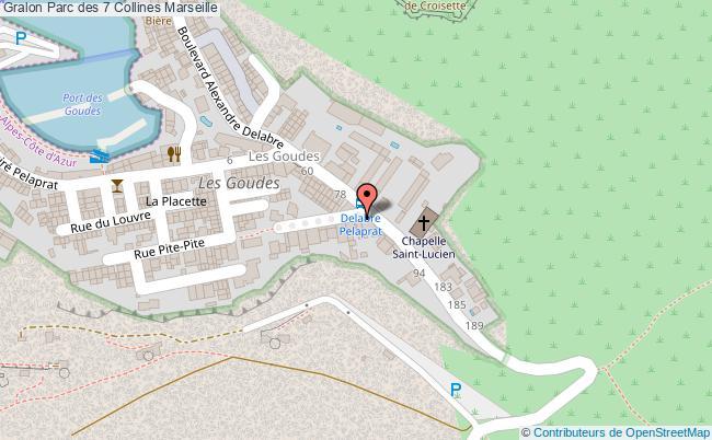plan Parc Des 7 Collines Marseille