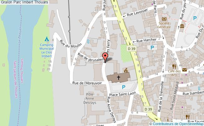 plan Parc Imbert Thouars