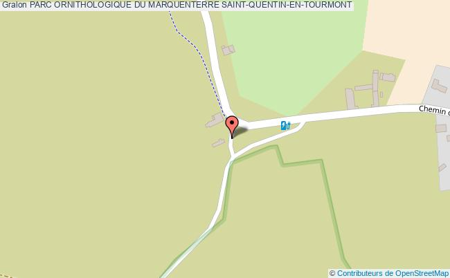 plan Parc Ornithologique Du Marquenterre Saint-quentin-en-tourmont