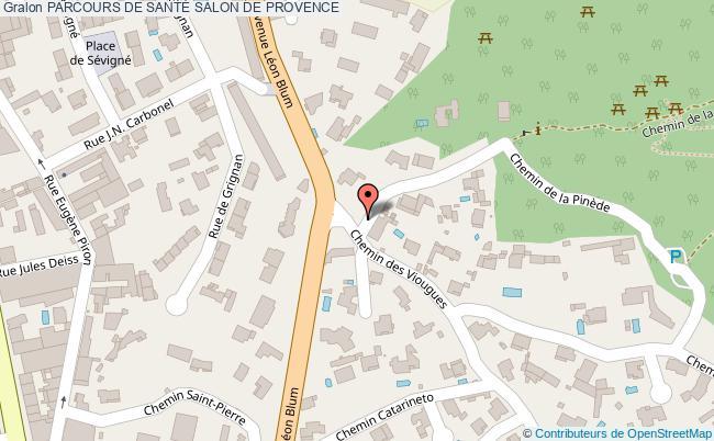 plan Parcours De SantÉ Salon De Provence