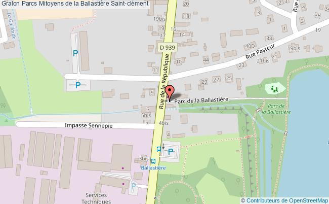 plan Parcs Mitoyens De La Ballastière Saint-clément