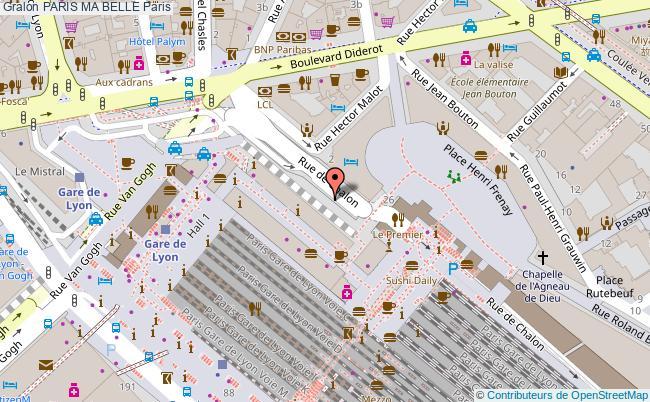 plan Paris Ma Belle Paris