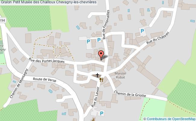 plan Petit Musée Des Chailloux Chevagny-les-chevrières
