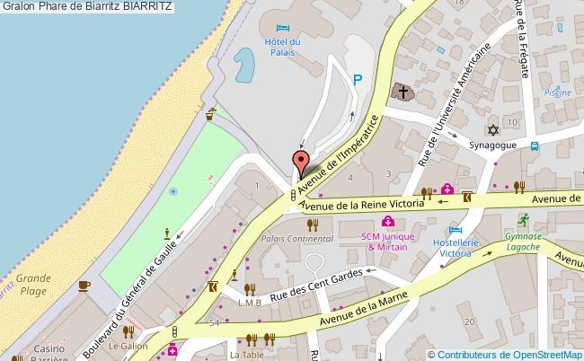 plan Phare De Biarritz Biarritz