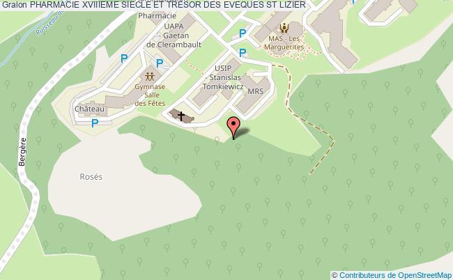 plan Pharmacie Xviiieme Siecle Et Tresor Des Eveques St Lizier