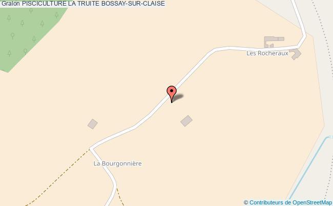 plan Pisciculture La Truite Bossay-sur-claise