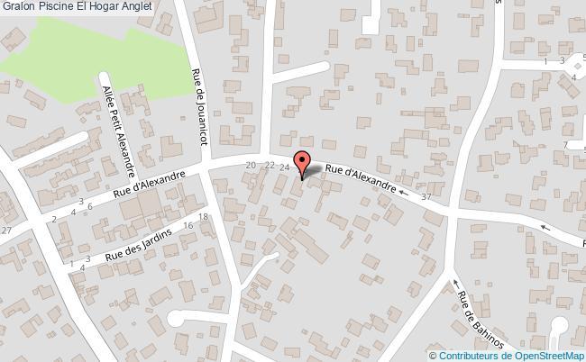 plan association Piscine El Hogar Anglet Anglet