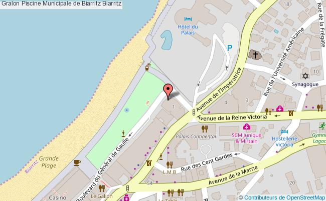 Piscine municipale de biarritz biarritz tourisme piscine for Piscine municipale biarritz