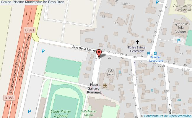 plan Piscine Municipale De Bron Bron