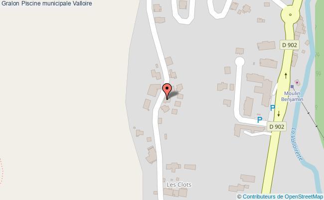 plan association Piscine Municipale Valloire Valloire