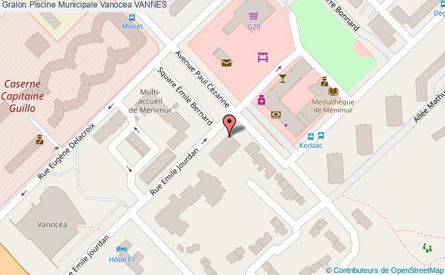plan Piscine Municipale Vanocea Vannes