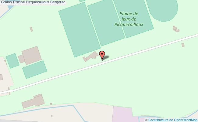 Piscine Picquecailloux Bergerac Tourisme Piscine