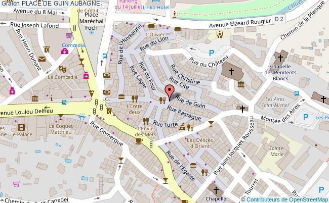 plan association Place De Guin Aubagne AUBAGNE