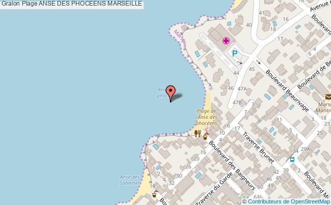 plan Anse Des Phoceens Marseille
