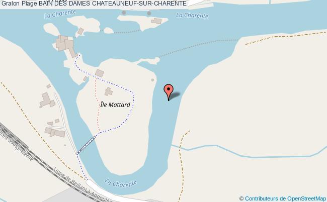 plan Bain Des Dames Chateauneuf-sur-charente