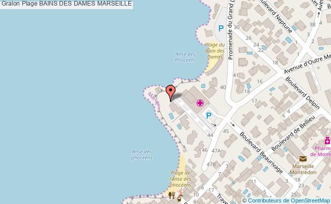 plan Bains Des Dames Marseille