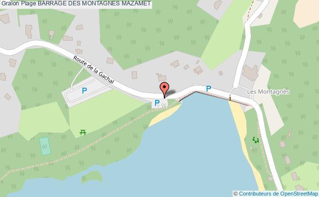 plan Barrage Des Montagnes Mazamet