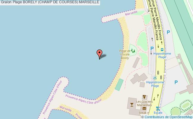 plan Borely (champ De Courses) Marseille