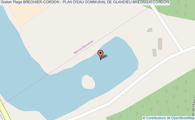 plan Bregnier-cordon - Plan D'eau Communal De Glandieu Bregnier-cordon
