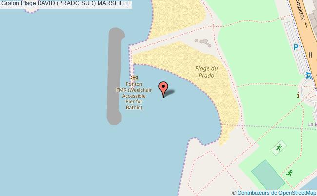 plan David (prado Sud) Marseille
